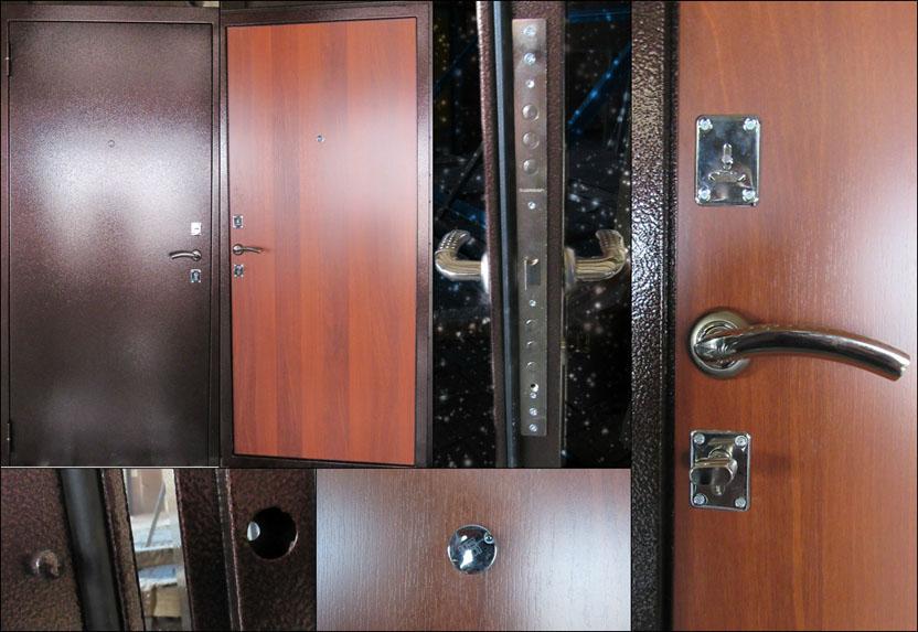 установка металлических дверей в бронницах